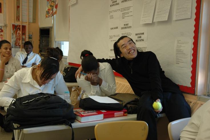 生徒からは「Mr.イチーダ」と呼ばれ、とても親しまれている。